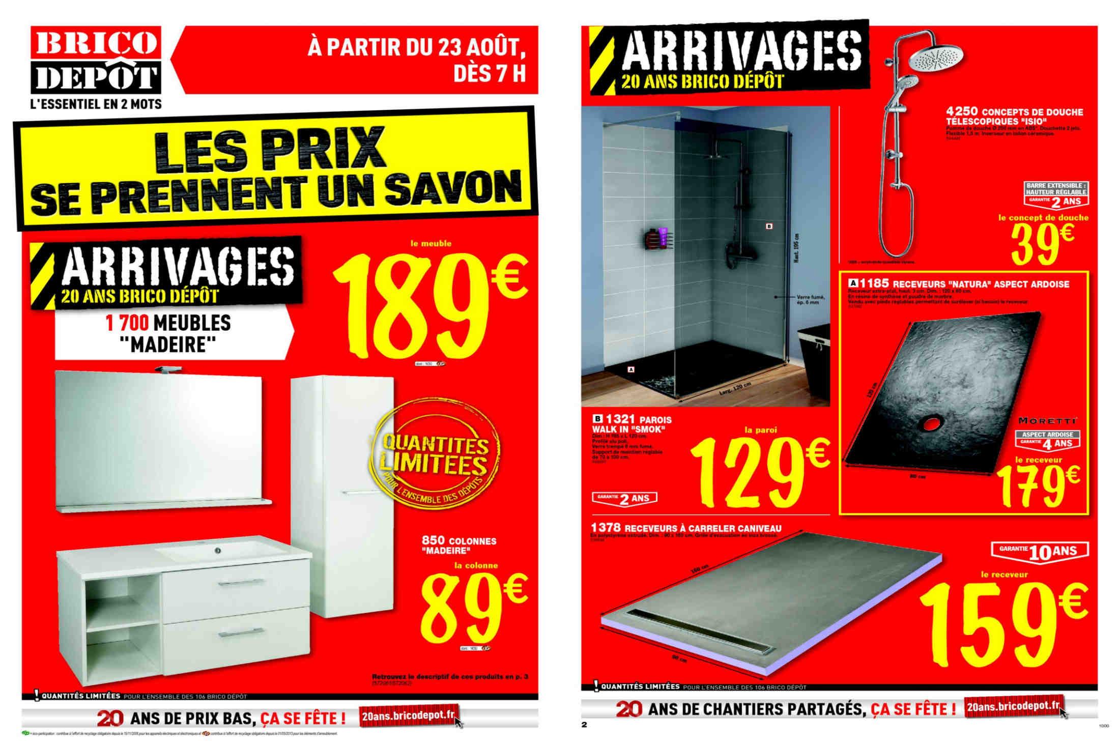 lino salle de bain brico depot economiser la maison. Black Bedroom Furniture Sets. Home Design Ideas