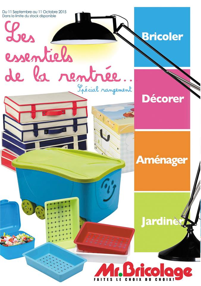Catalogue Mr Bricolage 2015