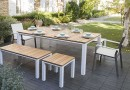 La table de jardin, l'atout déco