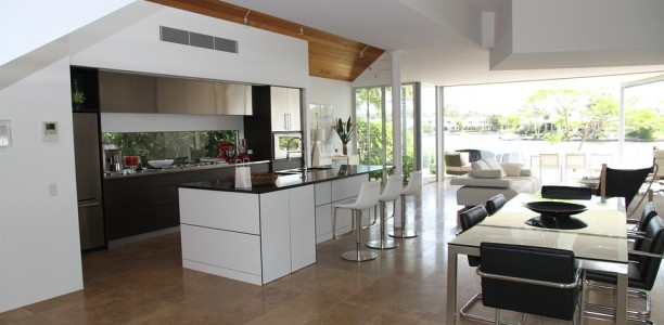 Maison : Le salon et la salle à manger